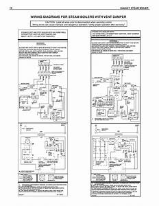 Wiring Diagrams For Steam Boilers With Vent Damper  16