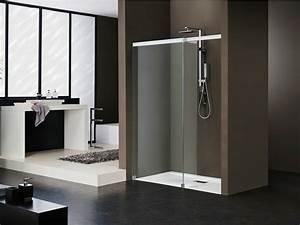Niche De Douche : cabine de douche en niche en cristal libero 5000 by duka ~ Premium-room.com Idées de Décoration