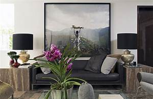 contemporary interior project 910 by kiko salomagbpo With interior decorating ideas black leather sofa