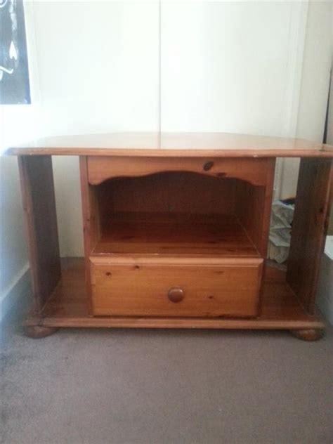 antique pine tv solid pine corner tv cabinet antique pine finish sandwell