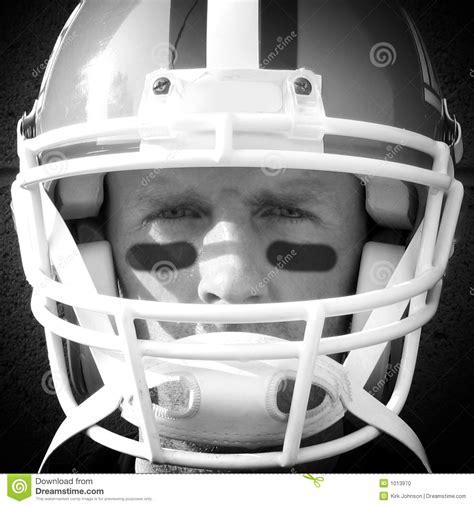 football player close  stock photo image