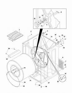 Frigidaire Dryer  Parts For A Frigidaire Dryer