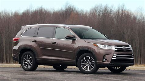 2018 Toyota Highlander Review A Safe Bet