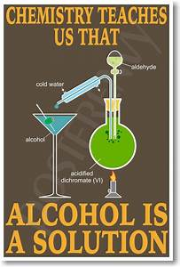 Alcohol Is A Solution - NEW Classroom Science Chemistry ...