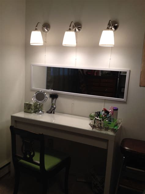 Ikea Le Arstid by Ikea Vanity Malm Dressing Table And Arstid Wall Ls