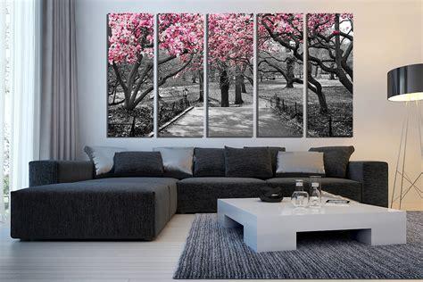 livingroom wall decor 5 canvas wall grey canvas print scenery