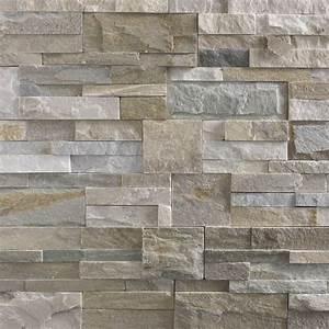 plaquette de parement elegance en pierre naturelle beige With deco pierre de parement
