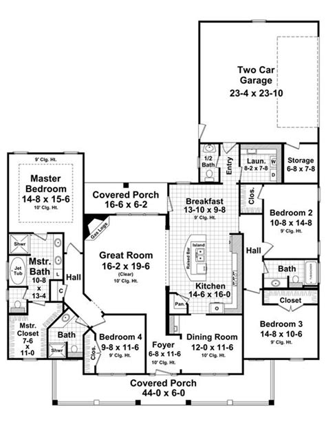 country kitchen floor plans metal building house plans 30x70 country home plan pc
