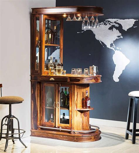 Unique Bar Furniture by Buy Clarke Bar Unit In Provincial Teak Finish By