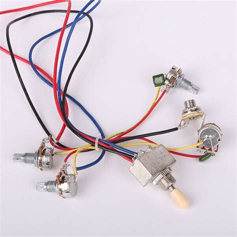 Wiring Harness Way Box Toggle Switch Jack For