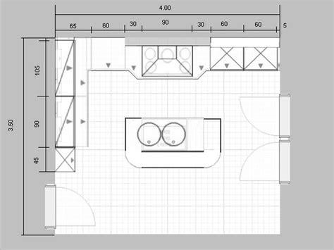 plan cuisine americaine comment faire les plans de sa maison 13 plan