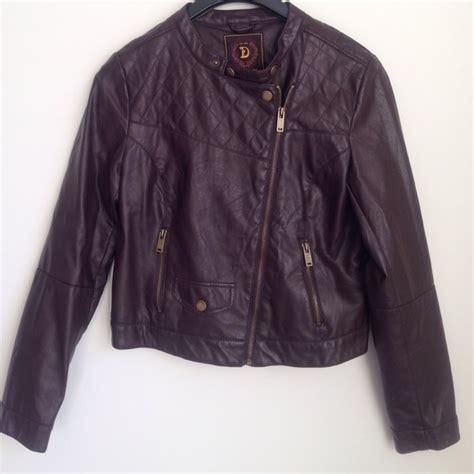 60% off Dollhouse Jackets u0026 Blazers - Faux leather biker jacket for women from Namitau0026#39;s closet ...