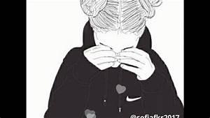 Fille Noir Et Blanc : vid o fille swag dessin youtube ~ Melissatoandfro.com Idées de Décoration