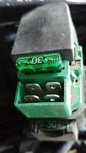 Burnt Starter Relay Connector  Cause Or Consequence