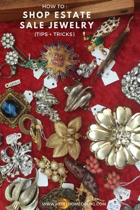 How To : Shop Estate Sale Jewelry. — heirloomed