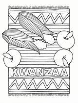 Kwanzaa Coloring Pages Printable December Crafts Holiday Holidays Rug Candles Principles Happy Craft Kinara Winter Activities Printables Sheets Preschool Colouring sketch template