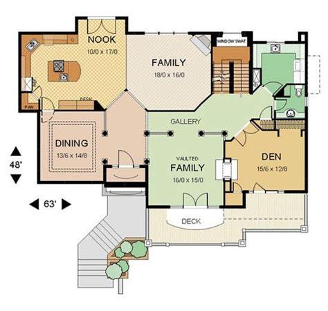 unique   design   home floor plan  home