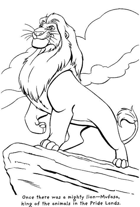 lion king animal coloring pages kentscraft