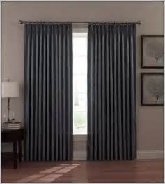 rod pocket curtains on traverse rod curtain home