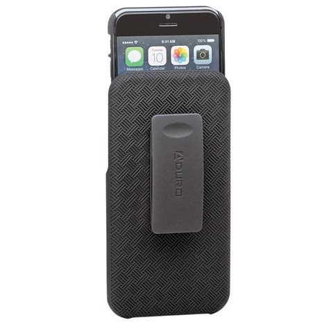 iphone shell aduro shell holster combo for iphone 6 ai65 cr01 hcs b h