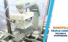 isolator  filling stoppering capping machine snowbell machines cphi