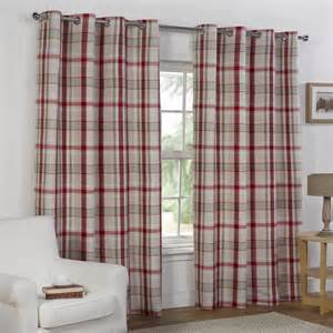 tartan curtains red curtain menzilperde net