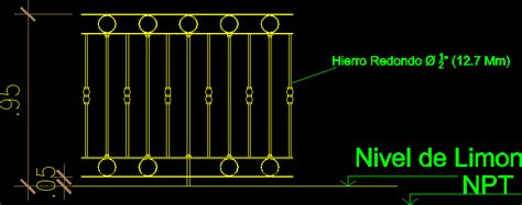 decorative wrought iron balcony railings dwg block  autocad designs cad