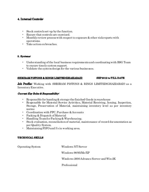 Desired Goals Resume by Resume
