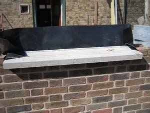 Fitting A Window Sill by Fitting Concrete Window Sills
