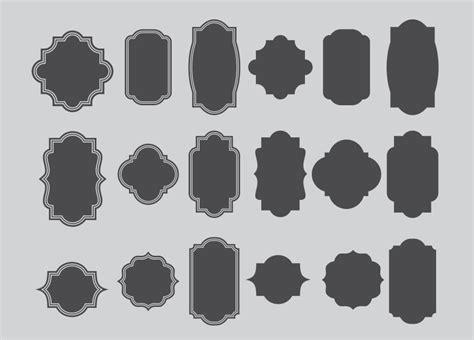 premium label frames custom shapes  ideaofart