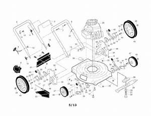 Murray Riding Mower Parts Diagram