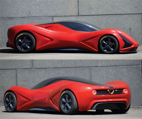 Alfa Romeo Concept Cars by Tuvi Tuvie