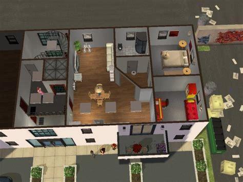 plan maison sims 3 plan de l apartment les maison et terrain sims 2