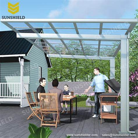outdoor dining cover bbq awning sunshield shelter