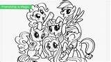 Pony Coloring Little Pages Printable Colouring Ponies Mlp Ponycoloring sketch template