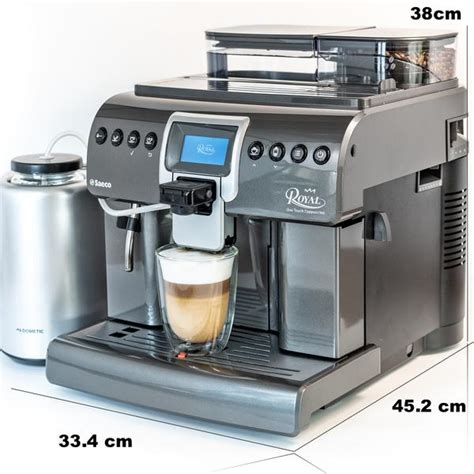We've supported royal cup with $1,000+ orders multiple times a year for ten years. Saeco Royal OTC Superautomatic Espresso Machine HD8930/47 - Espresso Canada