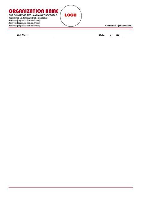 company letterhead template ideas  pinterest