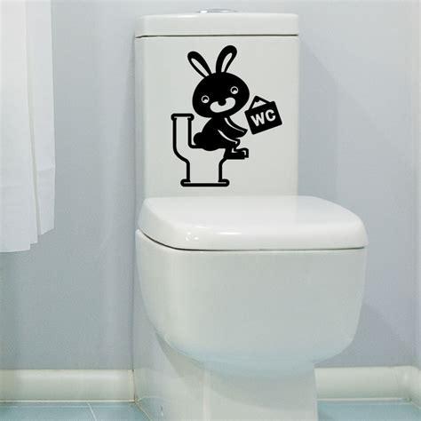 sticker toilettes lapin rieur stickers toilettes porte ambiance sticker