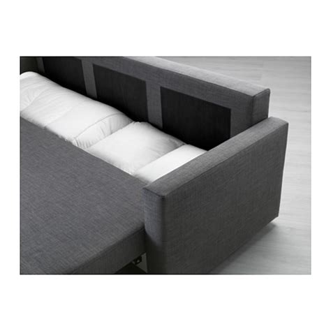 dark gray sofa bed friheten three seat sofa bed skiftebo dark grey ikea