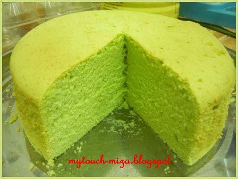 Recipe Kek Chiffon Kukus