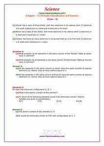 Elements And Their Properties Worksheet Answers