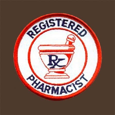 registered pharmacist patch