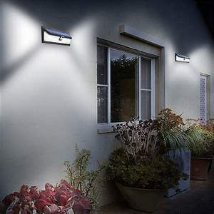Solarlampe garten latest solarlampe wandleuchte mit for Katzennetz balkon mit solar led garden lights