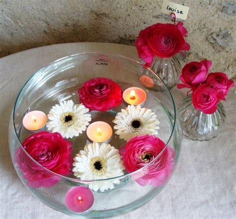 d 233 coration florale de table de table de mariage fleurs et bougie vase pour deco de