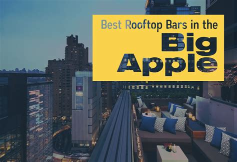 rooftop bars   big apple cheap movers nyc