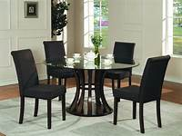 black dining room table Dining Room: marvellous black dining room table sets 7 ...
