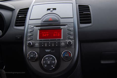 Kia Radio by 2011 Kia Soul Radio Motoring Rumpus
