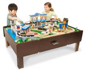 Thomas The Train Chair And Table Set by Amazon Kidkraft Waterfall Mountain Train Set And Table