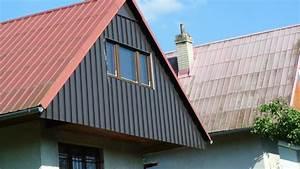Oplechování štítu střechy