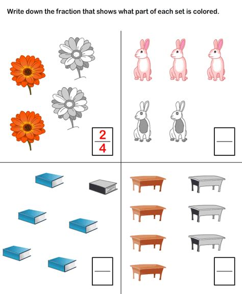 math practice worksheets fraction worksheets and printables